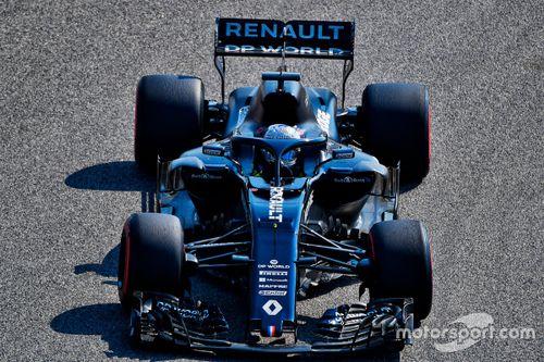 Alonso Renault Bahrein test