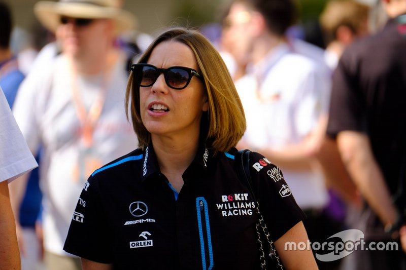 Claire Williams, directoria del equipo Williams Racing