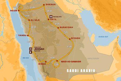 Dakar 2021 aankondiging