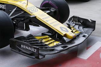 Renault Sport F1 Team R.S. 18, ala anteriore