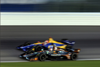 Zach Veach, Andretti Autosport Honda, Alexander Rossi, Andretti Autosport Honda
