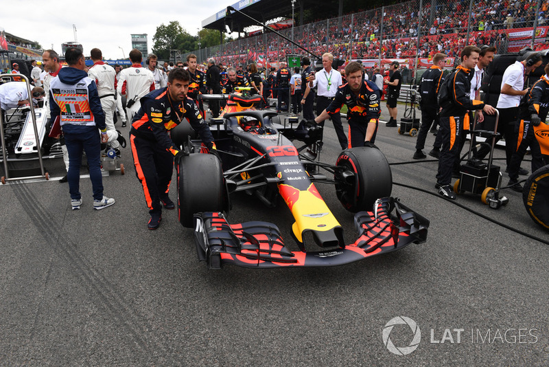 Rajtrács és készülődés az Olasz Nagydíj rajtja előtt - F1 2018