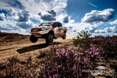 Alonso Toyota Poland testing