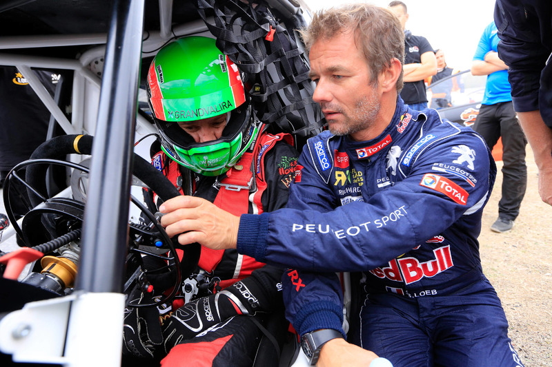 Albert Llovera and Sébastien Loeb, Team Peugeot Hansen