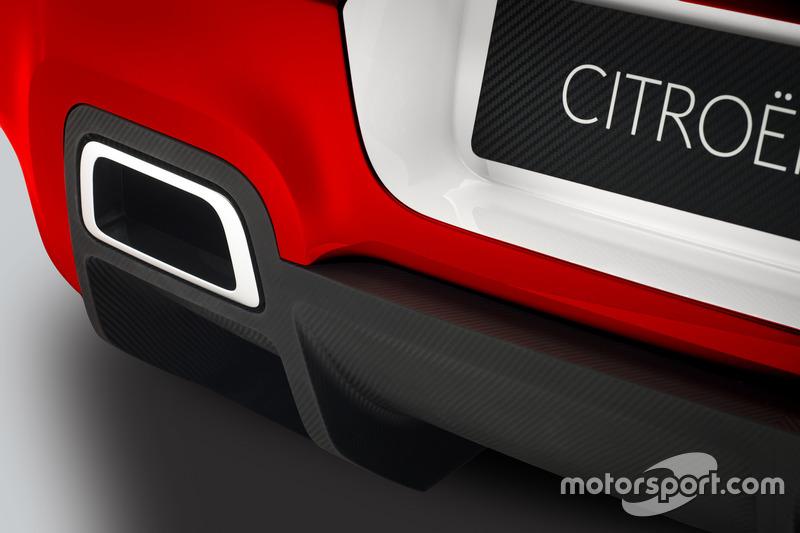 Detalle del Citroën C3 WRC Concept
