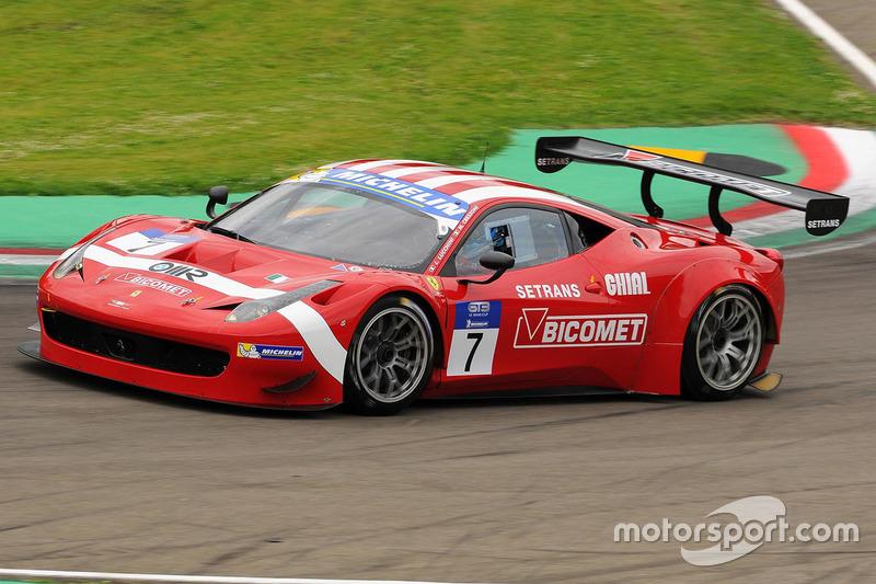 #7 BMS Scuderia Italia, Ferrari F458 Italia GT3: Luigi Lucchini, Matteo Cressoni
