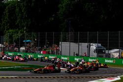Норман Нато, Racing Engineering, старт гонки
