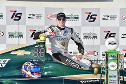 Race winner Josef Newgarden, Ed Carpenter Racing Chevrolet