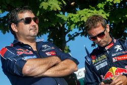 Sébastien Loeb, Team Peugeot Hansen y Daniel Elena