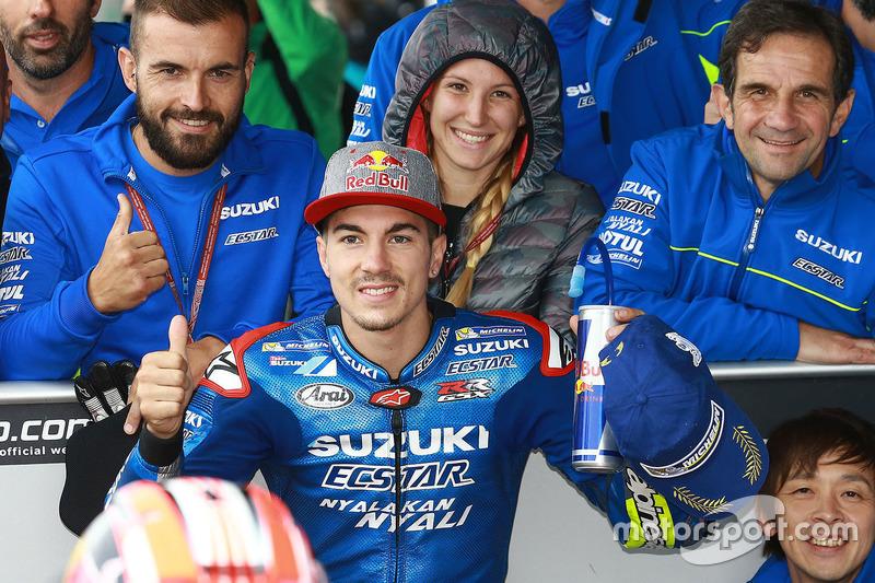 Thrid position: Maverick Viñales, Team Suzuki MotoGP