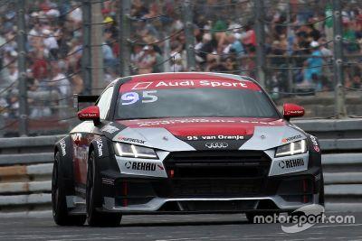 Bernhard van Oranje in Audi Sport TT Cup aankondiging