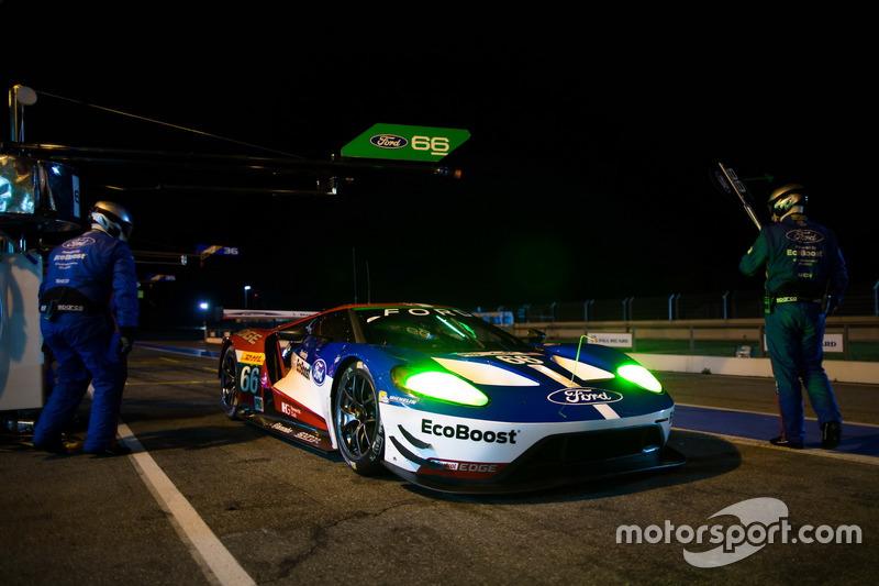 #66 Ford Chip Ganassi Racing Team UK, Ford GT: Billy Johnson, Stefan Mücke, Olivier Pla