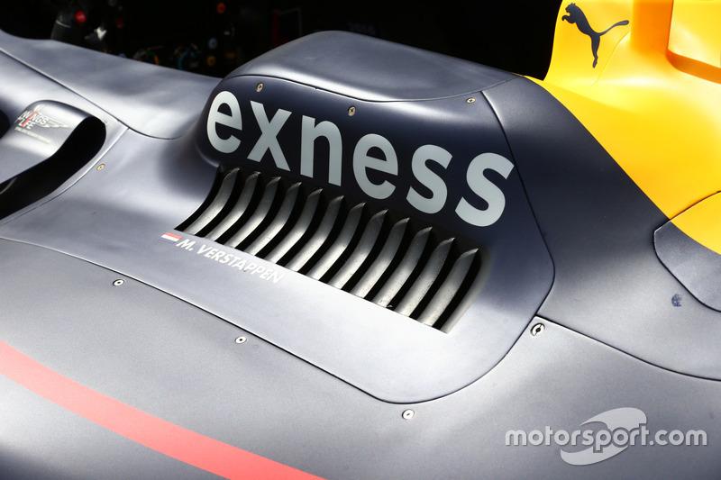 Деталь Red Bull Racing RB12
