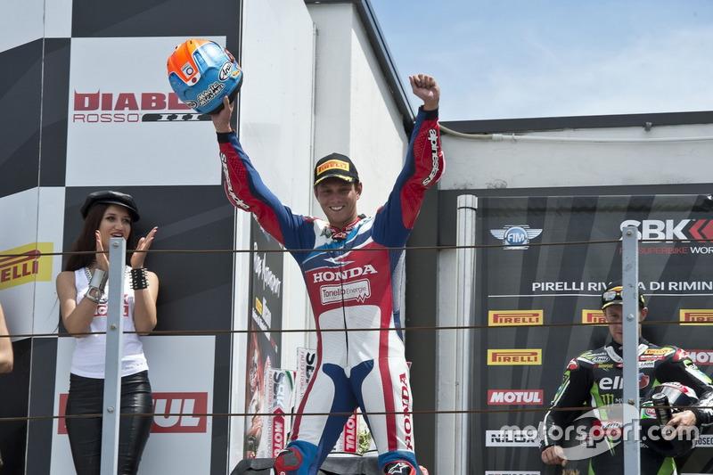 Michael van der Mark Honda World Superbike Team