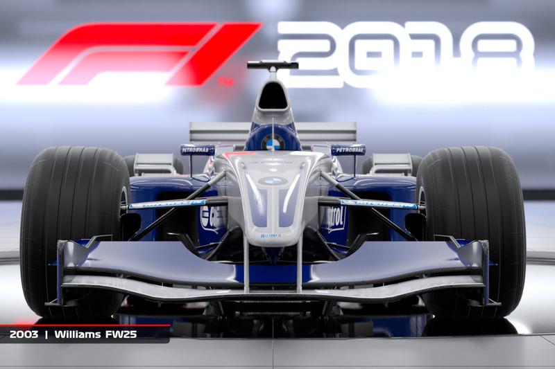 Williams FW25 2003 года