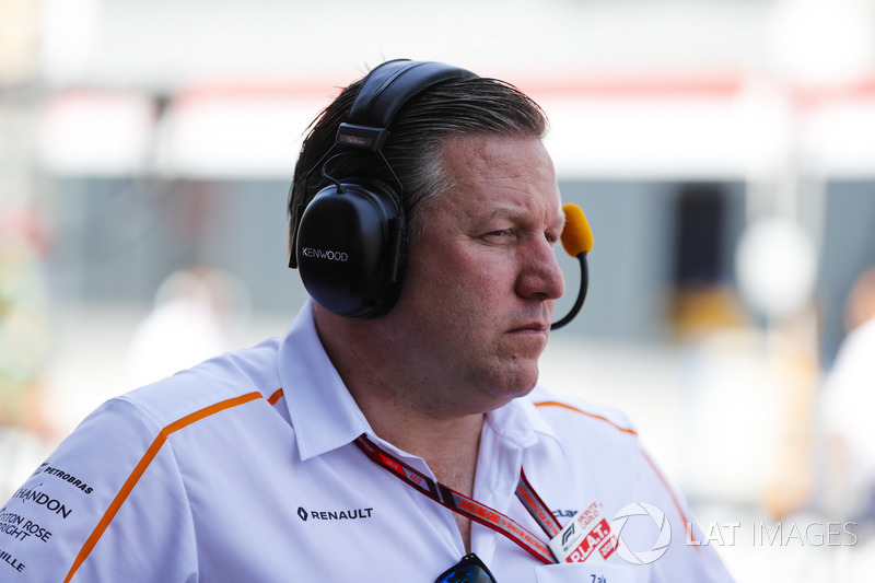 Zak Brown, Director Ejecutivo, McLaren Technology Group