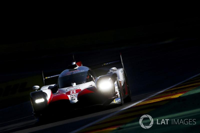 #8 Toyota Gazoo Racing Toyota TS050 Hybrid: Fernando Alonso, Sébastien Buemi, Kazuki Nakajima