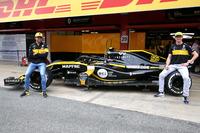 Carlos Sainz y Nico Hulkenberg, Renault F1 Team