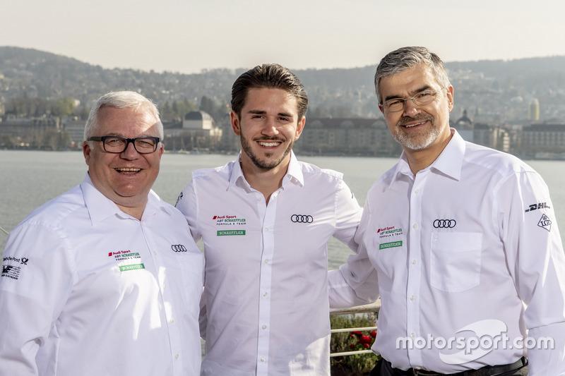 Stefan Moser, Audi Sport Communication, Daniel Abt, Audi Sport ABT Schaeffler, Dieter Gass, Capo del DTM Audi Sport