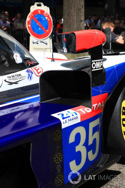 #35 SMP Racing Dallara P217 Gibson
