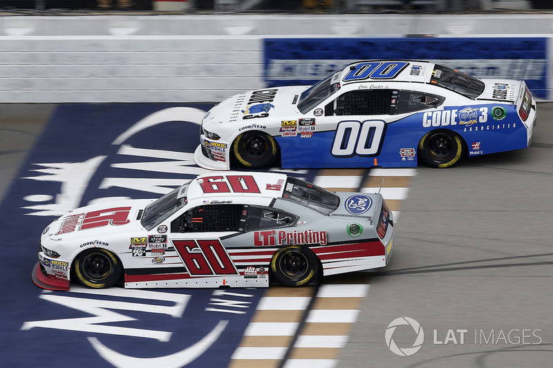 Chase Briscoe, Roush Fenway Racing, Ford Mustang LTi Printing Austin Cindric, Stewart-Haas Racing, Ford Mustang Code 3 Associates