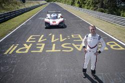 Timo Bernhard con el Porsche 919 Hybrid Evo