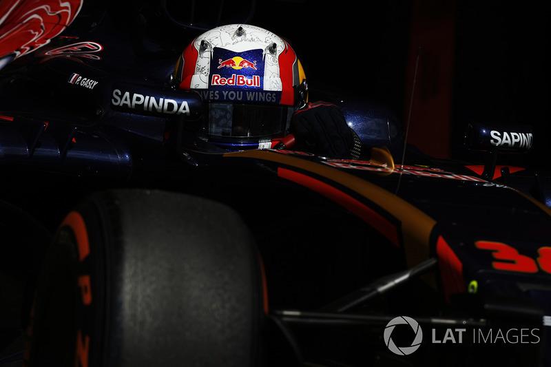 2016 - Tests en Formule 1