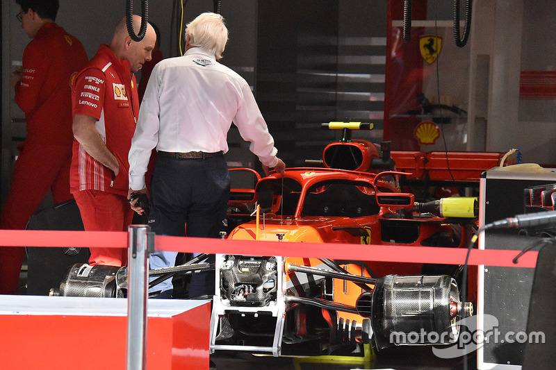 Charlie Whiting, Ferrari SF71H