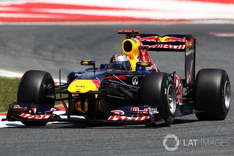 21º Sebastian Vettel - 14 carreras - De Singapur 2012 a Canadá 2013 - Red Bull