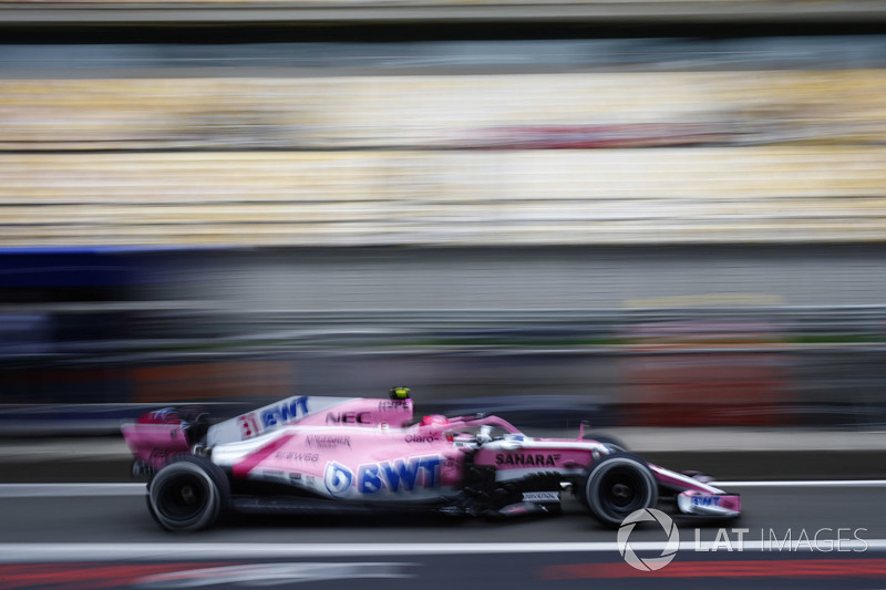 12. Esteban Ocon, Force India VJM11