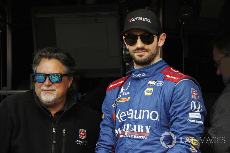 Alexander Rossi, Andretti Autosport Honda, Michael Andretti