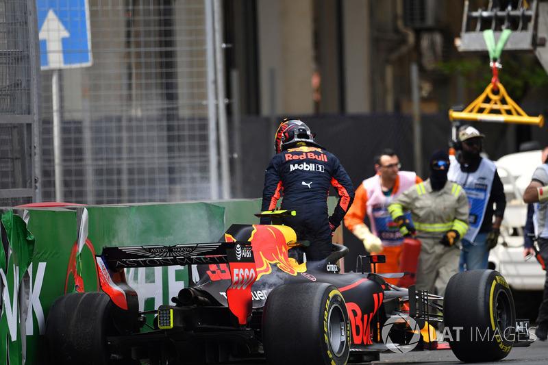 L'incidente di Max Verstappen, Red Bull Racing RB14