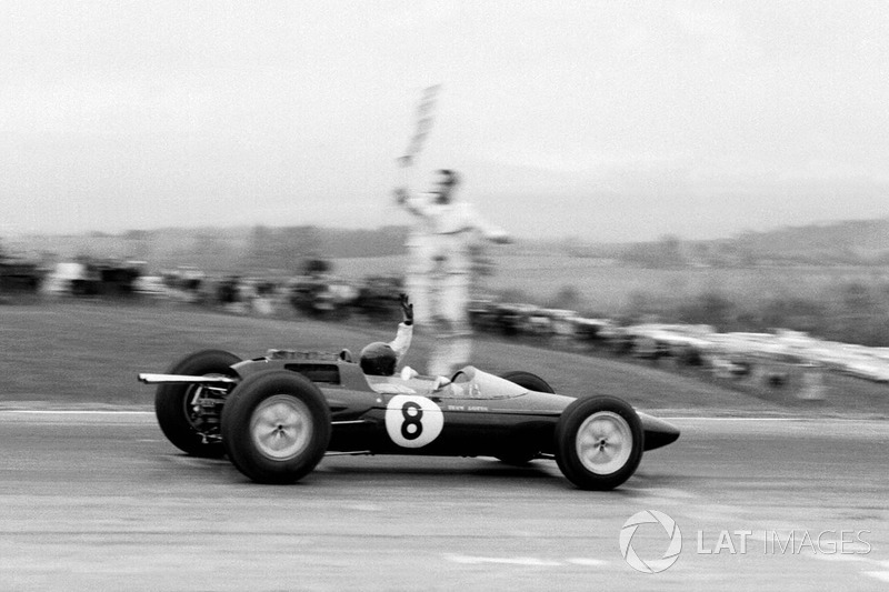 Grand Prix des États-Unis 1962 : Jim Clark, Lotus 25