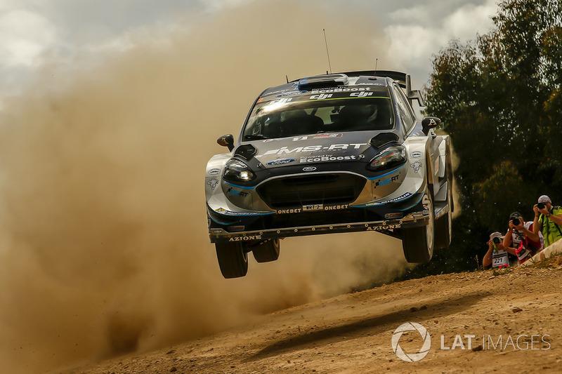 15. Отт Тянак (WRC) - 35 балів