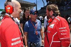 Jock Clear, Ferrari Şef Mühendisi, Rubens Barrichello, Gino Rosato, Ferrari
