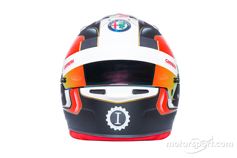 Charles Leclerc'in kaskı, Sauber