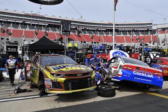Chris Buescher, JTG Daugherty Racing, Chevrolet Camaro Bush's Beans and A.J. Allmendinger, JTG Daugherty Racing, Chevrolet Camaro Kroger ClickList