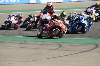 Jorge Lorenzo, Ducati Team crashes at the start