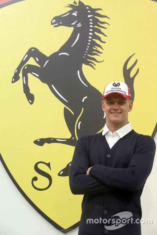 Мік Шумахер, Молодіжна академія Ferrari