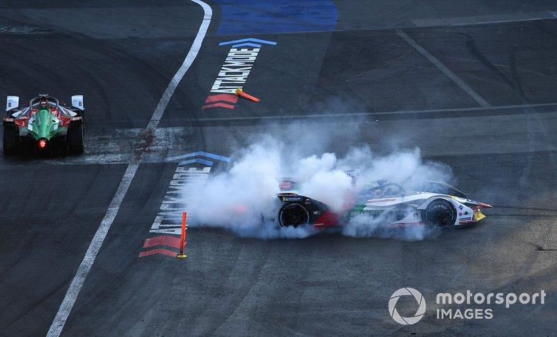 Лукас Ді Грассі, Audi Sport ABT Schaeffler, Audi e-tron FE05, крутить пончики після перемоги