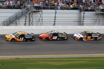 Clint Bowyer, Stewart-Haas Racing, Ford Mustang Rush Truck Centers/Mobil 1, Jamie McMurray, Spire Motorsports, Chevrolet Camaro McDonalds/Cessna/Bass Pro Shops, Matt DiBenedetto, Leavine Family Racing, Toyota Camry Procore