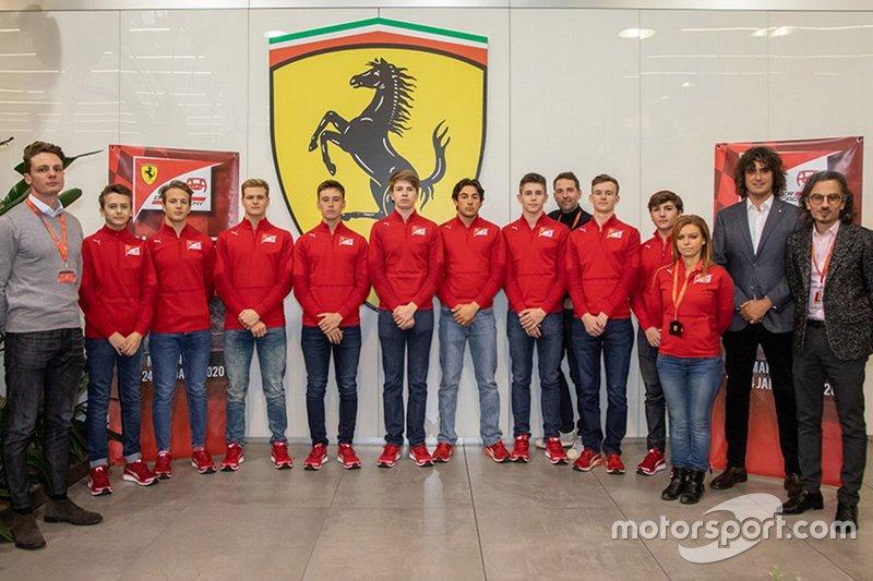 Ferrari Pilot akademisi açıklaması