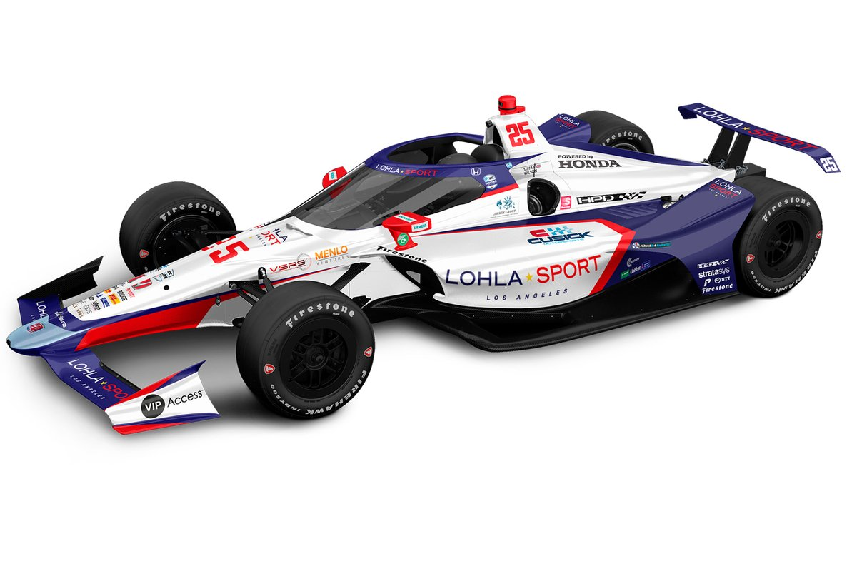Stefan Wilson's Andretti Autosport-Honda for 105th running of the Indianapolis 500