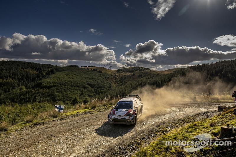 Esapekka Lappi, Janne Ferm, Toyota Gazoo Racing WRT Toyota Yaris WRC