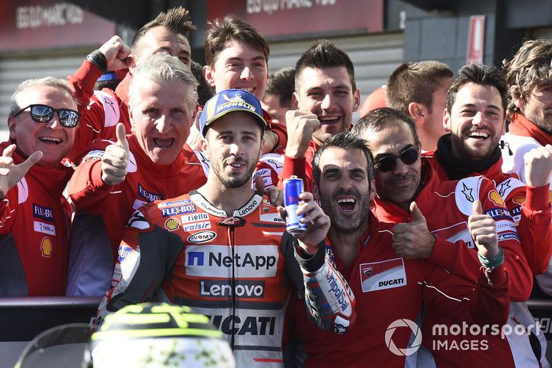 Третє місце Андреа Довіціозо, Ducati Team