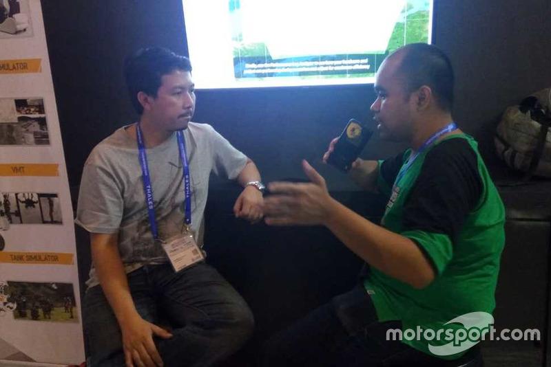 Harris Muhammad, CEO HM Engineering, Wisnu Setioko, Motorsport.com Indonesia