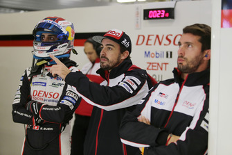 Fernando Alonso, Sébastien Buemi, Jose Maria Lopez, Toyota Gazoo Racing