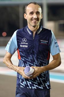 Robert Kubica, Williams walks the track