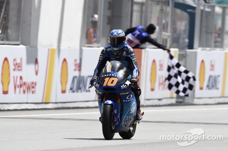 Luca Marini, Sky Racing Team VR46 conquista la vittoria