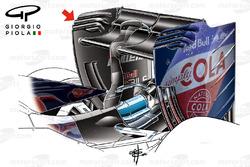 L'aileron arrière de la Toro Rosso STR11 à Barcelone